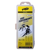 TOKO High Performance yellow 120g - skluzný vosk na běžky